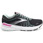 Brooks Adrenaline GTS 21 B Womens Running Shoe - Black/Pink/Yucca Brooks Adrenaline GTS 21 B Womens Running Shoe - Black/Pink/Yucca