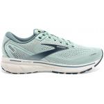 Brooks Ghost 14 B Womens Running Shoe - Aqua/Whisper WHT/Navy Brooks Ghost 14 B Womens Running Shoe - Aqua/Whisper WHT/Navy