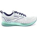 Brooks Levitate 5 B Womens Running Shoe - White/Navy Blue/Yucca Brooks Levitate 5 B Womens Running Shoe - White/Navy Blue/Yucca