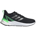 Adidas Response Super 2.0 Kids Running Shoe - Core Black/Iron Met./Screaming Green Adidas Response Super 2.0 Kids Running Shoe - Core Black/Iron Met./Screaming Green
