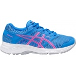 ASICS GEL-Contend 5 GS Girls Running Shoe - Blue Coast/Hot Pink ASICS GEL-Contend 5 GS Girls Running Shoe - Blue Coast/Hot Pink