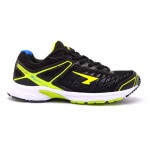 SFIDA Pursuit Boys Running Shoe - BLACK/LIME SFIDA Pursuit Boys Running Shoe - BLACK/LIME