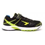 SFIDA Pursuit Boys VELCRO Running Shoe - BLACK/LIME - JAN SFIDA Pursuit Boys VELCRO Running Shoe - BLACK/LIME - JAN