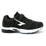 SFIDA Transfuse 2 Boys VELCRO Running Shoe - BLACK/WHITE SFIDA Transfuse 2 Boys VELCRO Running Shoe - BLACK/WHITE