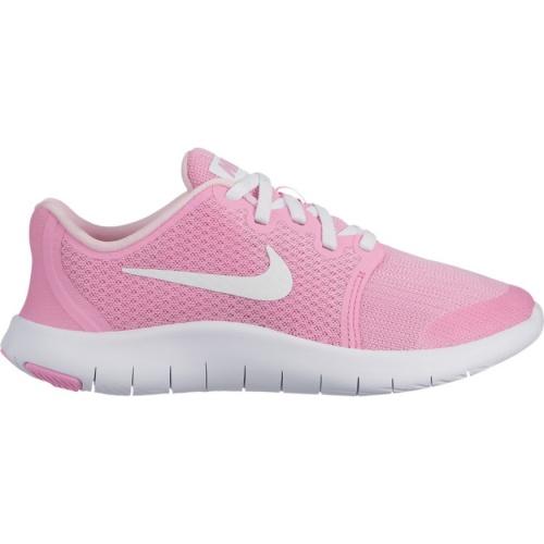 19da6975d6ab9 Nike Flex Contact 2 GS Girls Running Shoe - PINK RISE WHITE-PINK FOAM