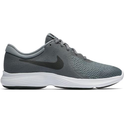 18b970bd8a55 Nike Revolution 4 GS Boys Running Shoe - Dark Grey Black-Cool Grey ...
