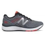 New Balance 860v9 WIDE Boys Running Shoe - GUNMETAL/ENERGY RED New Balance 860v9 WIDE Boys Running Shoe - GUNMETAL/ENERGY RED