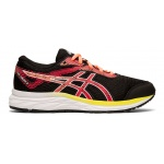 ASICS GEL-Excite 6 GS Girls Running Shoe - Black/Laser Pink ASICS GEL-Excite 6 GS Girls Running Shoe - Black/Laser Pink