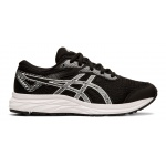 ASICS GEL-Excite 6 GS Boys Running Shoe - Black/White ASICS GEL-Excite 6 GS Boys Running Shoe - Black/White