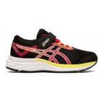 Asics Excite 6 PS VELCRO Girls Running Shoe - Black/Laser Pink Asics Excite 6 PS VELCRO Girls Running Shoe - Black/Laser Pink