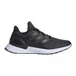 Adidas RapidaRun Kids Running Shoe - Core Black/Carbon/FTWR White Adidas RapidaRun Kids Running Shoe - Core Black/Carbon/FTWR White