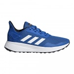 Adidas DURAMO 9 Kids Running Shoe - Blue/FTWR White/Core Black Adidas DURAMO 9 Kids Running Shoe - Blue/FTWR White/Core Black