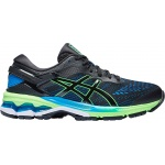 ASICS GEL-Kayano 26 GS Boys Running Shoe - BLACK/Green Gecko ASICS GEL-Kayano 26 GS Boys Running Shoe - BLACK/Green Gecko