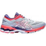 ASICS GEL-Kayano 26 GS Girls Running Shoe - Piedmont Grey/Silver ASICS GEL-Kayano 26 GS Girls Running Shoe - Piedmont Grey/Silver