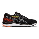 ASICS GEL-Cumulus 21 GS Boys Running Shoe - BLACK/WHITE ASICS GEL-Cumulus 21 GS Boys Running Shoe - BLACK/WHITE