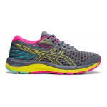 ASICS GEL-Cumulus 21 GS Girls Running Shoe - Metropolis/Sour Yuzu ASICS GEL-Cumulus 21 GS Girls Running Shoe - Metropolis/Sour Yuzu