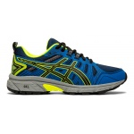 ASICS GEL-Venture 7 GS Boys Running Shoe - BLACK/SAFETY YELLOW ASICS GEL-Venture 7 GS Boys Running Shoe - BLACK/SAFETY YELLOW
