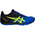ASICS GEL-Firestorm 4 Boys Track & Field Shoe - Illusion Blue/Hazard Green ASICS GEL-Firestorm 4 Boys Track & Field Shoe - Illusion Blue/Hazard Green