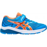 ASICS GT-1000 8 PS VELCRO Boys Running Shoe - DIRECTOIRE BLUE/KOI ASICS GT-1000 8 PS VELCRO Boys Running Shoe - DIRECTOIRE BLUE/KOI