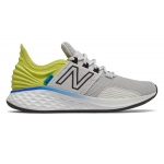New Balance Fresh Foam ROAV WIDE GS Boys Running Shoe - Light Aluminum/Sulphur Yellow - (SG) New Balance Fresh Foam ROAV WIDE GS Boys Running Shoe - Light Aluminum/Sulphur Yellow - (SG)