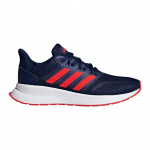Adidas Runfalcon Kids Running Shoe - dark blue/active red/core black Adidas Runfalcon Kids Running Shoe - dark blue/active red/core black