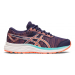 ASICS GEL-Excite 6 GS Girls Running Shoe - Purple Matte/Sun Coral ASICS GEL-Excite 6 GS Girls Running Shoe - Purple Matte/Sun Coral