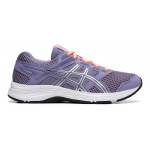 ASICS GEL-Contend 5 GS Girls Running Shoe - Ash Rock/Silver ASICS GEL-Contend 5 GS Girls Running Shoe - Ash Rock/Silver