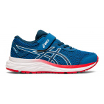 Asics Excite 6 PS VELCRO Boys Running Shoe - Lake Drive/Midnight Asics Excite 6 PS VELCRO Boys Running Shoe - Lake Drive/Midnight