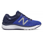 New Balance 860v10 WIDE Junior Running Shoe - Pigment/UV Blue/Bayside New Balance 860v10 WIDE Junior Running Shoe