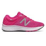 New Balance 860v10 Girls Running Shoe - Carnival/Sedona/Oxygen Pink New Balance 860v10 Girls Running Shoe - Carnival/Sedona/Oxygen Pink