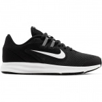 Nike Downshifter 9 Boys Running Shoe - BLACK/WHITE-ANTHRACITE Nike Downshifter 9 Boys Running Shoe - BLACK/WHITE-ANTHRACITE