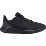 Nike Revolution 5 GS Boys Running Shoe - BLACK/ANTHRACITE Nike Revolution 5 GS Boys Running Shoe - BLACK/ANTHRACITE