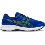 ASICS Contend 6 GS Boys Running Shoe - Tuna Blue/Black ASICS Contend 6 GS Boys Running Shoe - Tuna Blue/Black