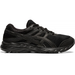 ASICS Contend 6 GS Boys Running Shoe - BLACK/BLACK ASICS Contend 6 GS Boys Running Shoe - BLACK/BLACK