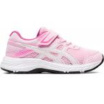 ASICS Contend 6 PS VELCRO Girls Running Shoe - Cotton Candy/White ASICS Contend 6 PS VELCRO Girls Running Shoe - Cotton Candy/White