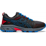 ASICS GEL-Venture 7 GS Boys Running Shoe - Black/Directoire Blue ASICS GEL-Venture 7 GS Boys Running Shoe - Black/Directoire Blue