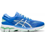 ASICS GEL-Kayano 26 GS Girls Running Shoe - Blue Coast/Pure Silver ASICS GEL-Kayano 26 GS Girls Running Shoe - Blue Coast/Pure Silver