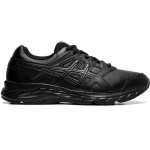 ASICS CONTEND 5 GS Synthetic Leather Running Shoe - BLACK/GRAPHITE GREY ASICS CONTEND 5 GS Synthetic Leather Running Shoe - BLACK/GRAPHITE GREY