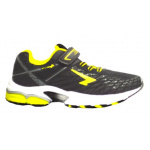 SFIDA Pursuit 2 VELCRO Boys Running Shoe - BLACK/LIME SFIDA Pursuit 2 VELCRO Boys Running Shoe - BLACK/LIME