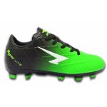 SFIDA Ignite Kids Football Boot - BLACK/FLURO GREEN SFIDA Ignite Kids Football Boot - BLACK/FLURO GREEN