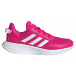 Adidas Tensaur Run Girls Running Shoe - Shock Pink/FTWR White/Light Granite Adidas Tensaur Run Girls Running Shoe - Shock Pink/FTWR White/Light Granite