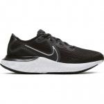 Nike Renew Run GS Kids Running Shoe - BLACK/METALLIC SILVER-WHITE-WOLF GREY Nike Renew Run GS Kids Running Shoe - BLACK/METALLIC SILVER-WHITE-WOLF GREY