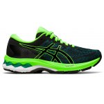 ASICS GEL-Kayano 27 GS Boys Running Shoe - Black/Green Gecko ASICS GEL-Kayano 27 GS Boys Running Shoe - Black/Green Gecko
