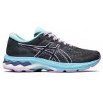 ASICS GEL-Kayano 27 GS Girls Running Shoe - Carrier Grey/Lilac Tech ASICS GEL-Kayano 27 GS Girls Running Shoe - Carrier Grey/Lilac Tech