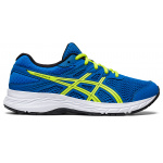 ASICS Contend 6 GS Boys Running Shoe - Directoire Blue/Lime Zest ASICS Contend 6 GS Boys Running Shoe - Directoire Blue/Lime Zest
