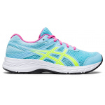 ASICS Contend 6 GS Girls Running Shoe - Ocean Decay/Safety Yellow ASICS Contend 6 GS Girls Running Shoe - Ocean Decay/Safety Yellow