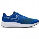 Nike Star Runner 2 Boys Running Shoe - GAME ROYAL/METALLIC SILVER Nike Star Runner 2 Boys Running Shoe - GAME ROYAL/METALLIC SILVER
