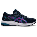 ASICS GT-1000 10 GS Kids Running Shoe - French Blue/Digital Grape ASICS GT-1000 10 GS Kids Running Shoe - French Blue/Digital Grape