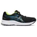 ASICS Contend 7 GS Boys Running Shoe - Black/Digital Aqua ASICS Contend 7 GS Boys Running Shoe - Black/Digital Aqua