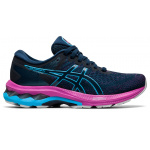 ASICS GEL-Kayano 27 GS Girls Running Shoe - French Blue/Digital Aqua ASICS GEL-Kayano 27 GS Girls Running Shoe - French Blue/Digital Aqua